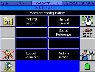 HMI panello operatore