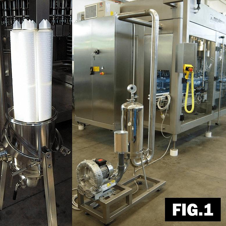 sistema di filtrazione acqua