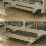vasca di raccolta liquidi per macchine baseless